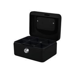 Geldkist Pavo 150x115x80mm zwart