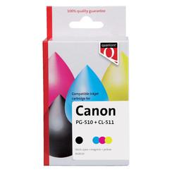 Inktcartridge Quantore Canon PG-510 zwart & CL-511 kleur
