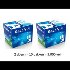 Kopieerpapier Double A 80gr A4 wit 2 DOZEN