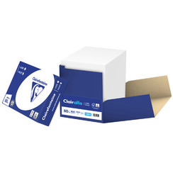 Kopieerpapier Clairefontaine Clairalfa A4 80gr wit 2500 Vel Smartpack