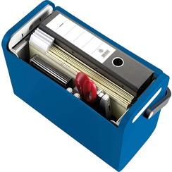 Helit Mobielbox hangmappen blauw