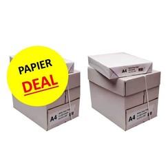 Budget kopieerpapier 2 dozen A4 wit