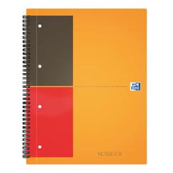 Spiraalblok Oxford International Notebook A4 gelinieerd