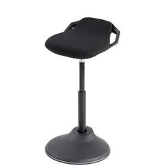 Sta-stoel Alba Flexy zwart