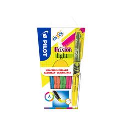 Markeerstift PILOT Frixion set à 6 kleuren