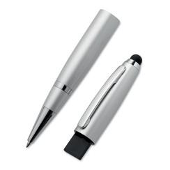 Stylus twist ball pen & USB  1gb bedrukt