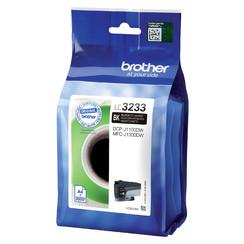 Inktcartridge Brother LC-3233 zwart