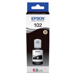 Navulinkt Epson 102 T03R1 zwart