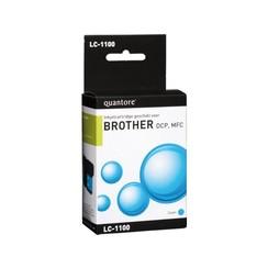 Inktcartridge Quantore Brother LC-1100 blauw