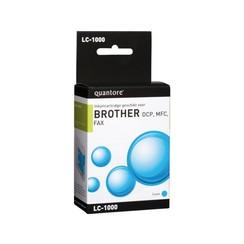 Inktcartridge Quantore Brother LC-1000 blauw