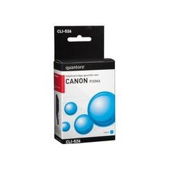 Inktcartridge Quantore Canon CLI-526 blauw