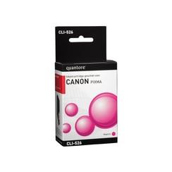Inktcartridge Quantore Canon CLI-526 rood