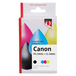 Inktcartridge Quantore Canon PG-545XL CL-546XL zwart kleur