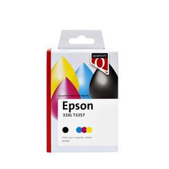 Inktcartridge Quantore Epson T3357 zwart + 3 kleuren