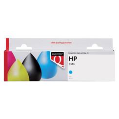 Inktcartridge Quantore HP F6T77AE 913A blauw