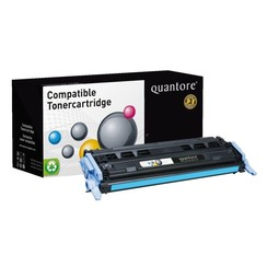 Tonercartridge Quantore HP Q6001A 124A blauw