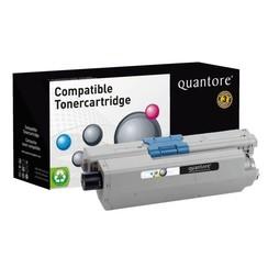 Tonercartridge Quantore Oki 44973536 zwart