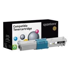 Tonercartridge Quantore Oki 44973533 geel