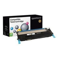 Tonercartridge Quantore Samsung CLT-C406S blauw