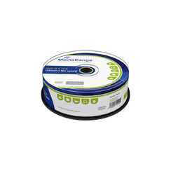 DVD-R MediaRange 4.7GB 120min 16x speed, 25 stuks