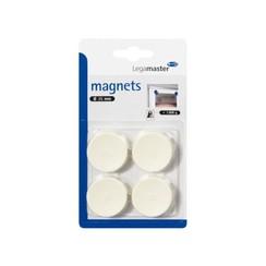 Magneet Legamaster 35mm 1000gr wit 4stuks