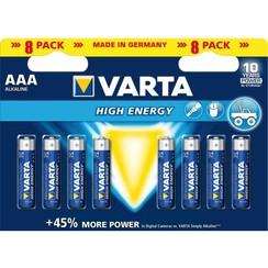 Batterij Varta Longlife Power 8xAAA