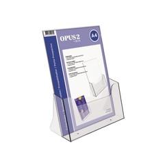 Folderhouder OPUS 2 A4 transparant