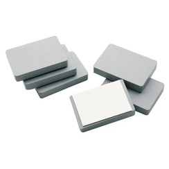 Magneet Legamaster 50x75x12mm blokmagneet