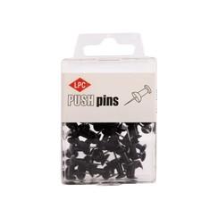 Push pins LPC 40stuks zwart