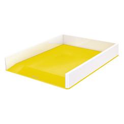 Brievenbak Leitz WOW A4 wit/geel