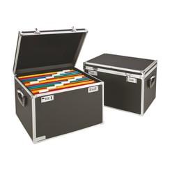 Hangmappenkoffer afsluitbaar Leitz 6714 zwart