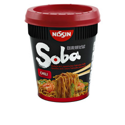 Nissin Soba Noodles chili cup