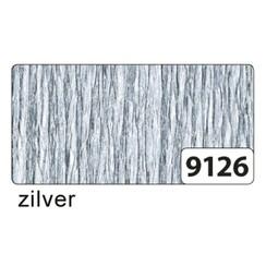 Crepepapier Folia 250x50cm nr9126 zilver