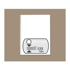 Draadrug Fellowes 14mm 34-rings A4 wit 100stuks
