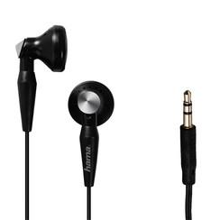 Oortelefoon Hama earbuds Basic4Music zwart
