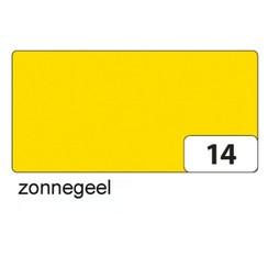 Fotokarton Folia 2zijdig 50x70cm 300gr nr14 zonnegeel