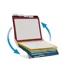 Bureaustandaard Durable 5579 Vario Pro met 10-tassen grijs