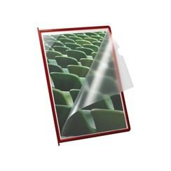 Infotas Flex-O-Frame met pen A4 rood