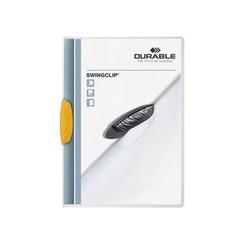 Klemmap Durable 2260 swingclip geel