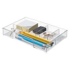 Inzetbak Leitz voor ladenbox transparant