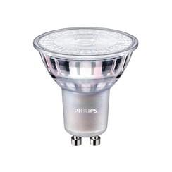 Ledlamp Philips Master LEDspot GU10 4W=35W 260 Lumen