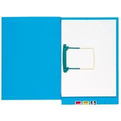 Clipexmap Secolor A4 lateraal blauw