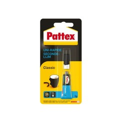 Secondelijm Pattex Classic tube 3gram op blister