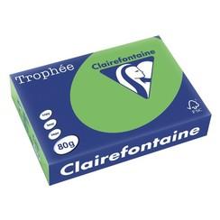 Kopieerpapier Trophee A4 80gr grasgroen 500vel