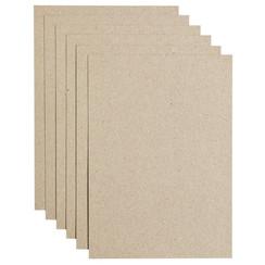 Kopieerpapier Papicolor A4 200gr 6vel kraft grijs