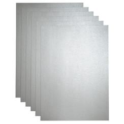 Kopieerpapier Papicolor A4 200gr 3vel zilver