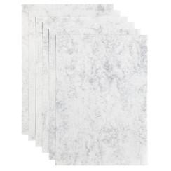 Kopieerpapier Papicolor A4 200gr 6vel marble ivoor
