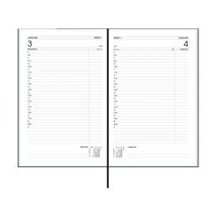 Agenda 2022 Ryam Efficiency kort 1 dag/1 pagina zwart