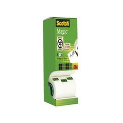 Onzichtbaar plakband Scotch Magic 810 19mmx33m 7+1 gratis
