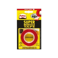Plakband Pattex Supermontage 50kg binnen en buiten